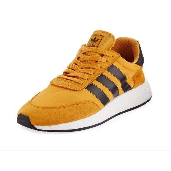Adidas Men's Iniki Yellow Running Shoe BY9733